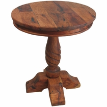 Regular Round Mesquite Bistro Table