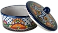 Rosario Talavera Tortilla Warmer with Lid