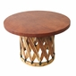 Round Equipal Coffee Table