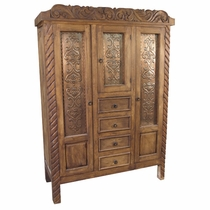 Rustic Antique Replica Wardrobe