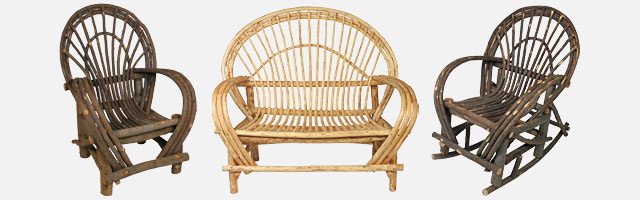 rustic bentwood twig furniture rh directfrommexico com outdoor twig chairs twig outdoor patio furniture