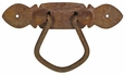 Rustic Iron Cupboard Pull Handle - Pack of 4