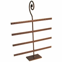 Rustic Iron Earring Stand