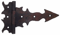 Rustic Iron Large Dragon Gate Hinge - 8.5""