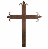 Rustic Iron Wall Crosses
