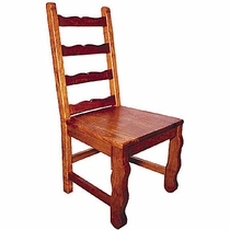 Rustic Mesquite Colonial Chair