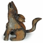 Rustic Metal Coyote Yard Art Sculptures -  Three Sizes Available