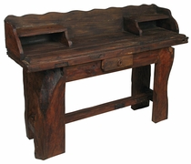 Rustic Old Door Console Desk
