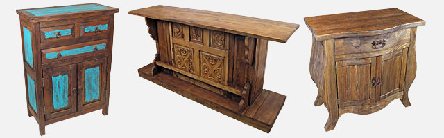 Rustic Old Wood Dining Furniture Bars
