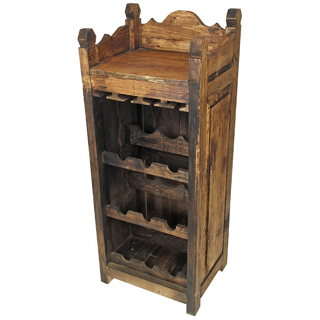 wine kitchen rack furniture model cgtrader models wooden
