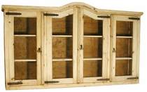 Rustic Pine Extra Large Cupboard - Top Only