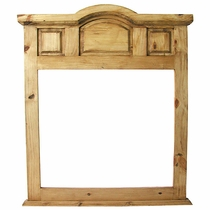 Rustic Pine Imperial Mirror Frame