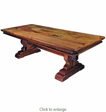 San Carlos Mesquite Dining Table - 96 Inch