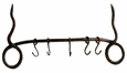 Iron Santa Fe Wall Pot Rack