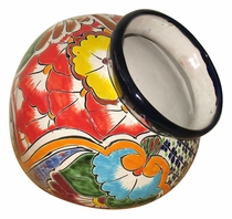 Sideways Talavera Flower Pot