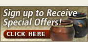 Sign-up for Special Offers and Coupons