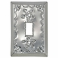Single Decorative Tin Mexican Switchplate - Star