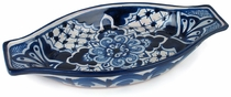 Small Blue & White Talavera Tapa Dish