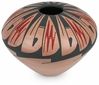 Small Bottom Mata Ortiz Southwest Vase