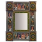 Small Frida Kahlo Folk Art Mirror