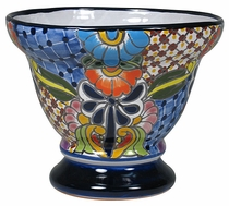 Goblet Mexican Flower Pot - Small