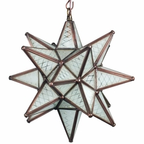 small maya frosted glass star pendant lamp - Star Pendant Light