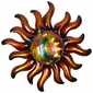 "Small Metal Southwest Sun Wall Art - 19"" Dia."