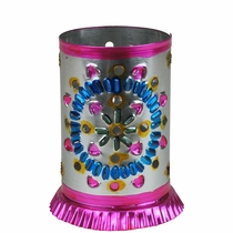 Small Multi Color Mexican Luminarias - Pack of 2