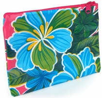 Small Mexican Oilcloth Cosmetic Bag - 2 Bags