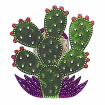 Small Prickly Pear Wall Candle Sconce
