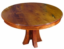 Small Round Mesquite Table