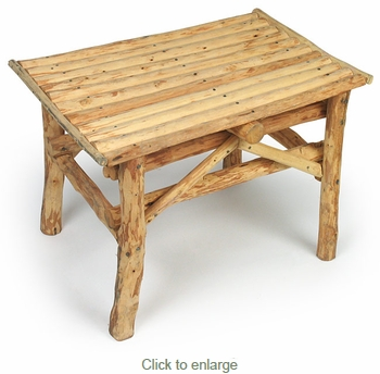 Exceptionnel Small Rustic Twig Table
