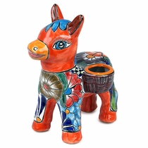 Small Talavera Burro Pot
