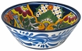 Small Talavera Round Serving Bowl