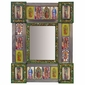 Small Virgin Folk Art Mirror