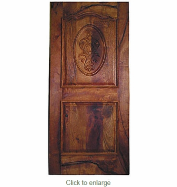 Solid Mesquite Door with Carving  sc 1 st  Direct From Mexico & Mesquite Door with Carving