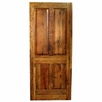 Solid Mesquite Panel Door