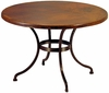 Sonoran Copper Top Bistro or Dining Table