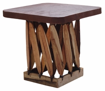 Square Equipale End Table