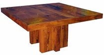 Square Mesquite Dining Table