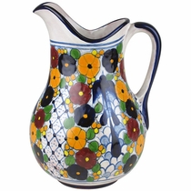 Swallow Talavera Pitcher