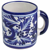 Talavera Blue & White Coffee Mug