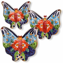 Talavera Butterflies - Set of Three