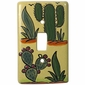 Talavera Cactus Single Switchplate