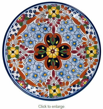 Talavera Dinner Plate  sc 1 st  Direct From Mexico & Talavera Dinner Plate - TP5570