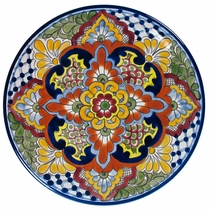Talavera Dinner Plate  sc 1 st  Direct From Mexico & Talavera Plates - Decorative Platters and Trays