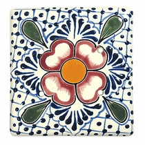 Talavera Double Blank Plate Cover