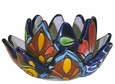 Talavera Flower Candle Holder