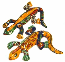 Talavera Gecko Lizard - Small or Medium