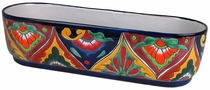 Talavera Large Oval Planter